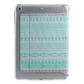XINCUCO Impression Series Smart Leather Tablet Shell for iPad Air - Sea Lake Lines - 3