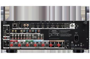Denon AV Receiver AVR-X3300W (Black) - 2