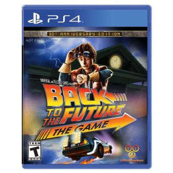 Harga PS4 Back To The Future The Game
