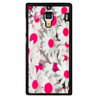Harga Y&M Cell Phone Case For XiaoMi RedMi 1S Beautiful White Flowers Printed Cover (Multicolor)
