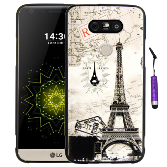 Harga Moonmini Ultra-thin Soft Silicone Back Case Cover for LG G5 (Multicolor)