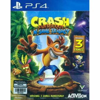 PS4 Crash Bandicoot N. Sane Trilogy / R3 (English)