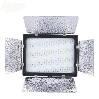 Harga Andoer W300 Video Photography Light Lamp Panel 300 LEDs 6000K for Canon Nikon Pentax Sony (Alpha) Olympus Fujifilm DSLR Camera DV Camcorder (EXPORT)
