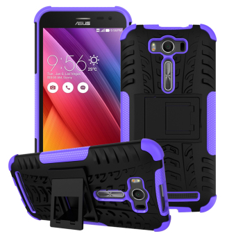 Harga Moonmini TPU + PC Case whith Kickstand Cover for ASUS ZenFone 2 Laser ZE550KL 5.5 inch (Purple) - intl