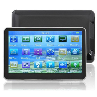 Harga Hot 5 Inch Auto Car GPS Navigation Sat Nav 4gb New Map Wince 6.0 Fm Mp4