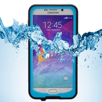 Harga REDPEPPER for Samsung Galaxy Note5 N920 Waterproof Cover Shock/Dirt/Dust/Snow Proof - Blue