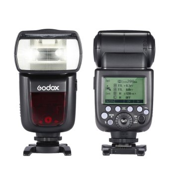 Harga Godox V860II-C E-TTL 1/8000S HSS Master Slave GN60 Speedlite Flash Built-in 2.4G Wireless X System for Canon 1DX/5D Mark III/5D Mark II/6D/7D/60D/50D/40D/30D/650D/600D Outdoorfree