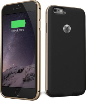 Harga Kuke Battery Case For IPhone 6 / 6s classic (gold / black)