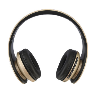 Harga Andoer LH-811 Wireless Bluetooth Noise Cancelling Headset (Gold) (EXPORT)