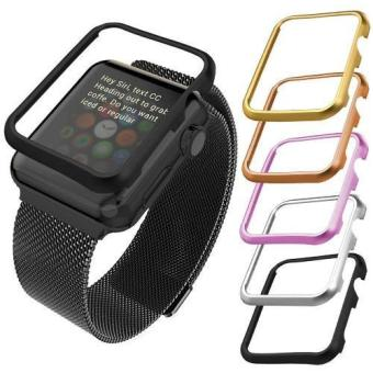 Harga Case for Apple Watch Series 2 and 1 42mm Aluminum Alloy Case (Without Screen Cover) - intl