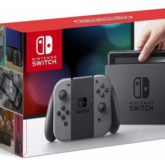 Harga Nintendo Switch with Gray Joy-Con (EXPORT SET)