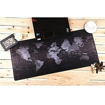 Harga 31.5x11.8x0.12'' Large World Map Speed Game Mouse Pad Mat Gaming Mousepad New New - intl