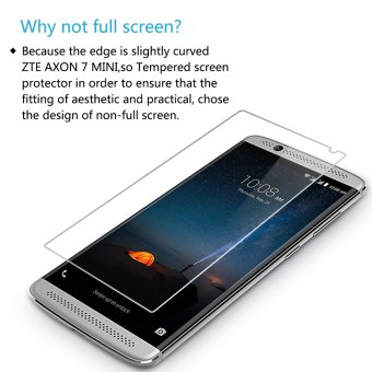 Harga PopSky Clear Tempered Glass Premium 9H Film Screen Protector for ZTE AXON 7 Mini