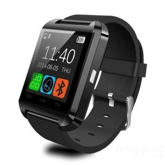 Harga UWatch U8 Bluetooth Smartwatch with Sports and Sleep Tracker (Black)