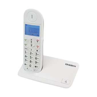 Harga Uniden AT4102 WH (Single Cordless Phone)