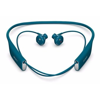 Sony SBH70 Water Resistant Sports Bluetooth Headset with NFC - [Blue] - intl