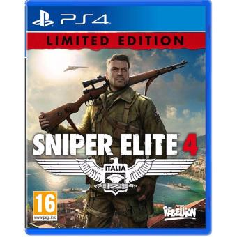 Harga PS4 Sniper Elite 4: Italia - Limited Edition (R2)