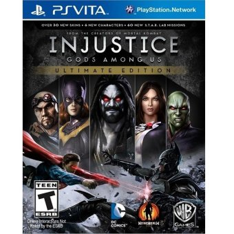 Harga PS4 Injustice Gods Among Us Ultimate Edition