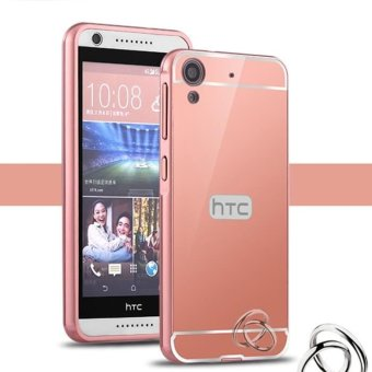 Harga Moonmini Hybrid Metal Case PC Back Cover for HTC Desire 626 (Rose Gold)