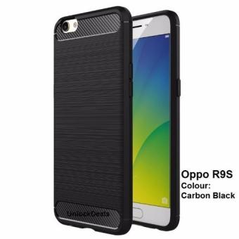 Harga Rugged Carbon Case for OPPO R9S (Black)