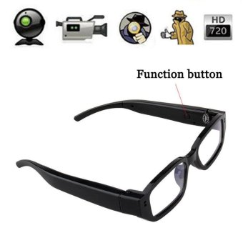 Mini HD 720P Glasses Hidden Eyewear Camera Security Cam DVR Video Record - intl - 2