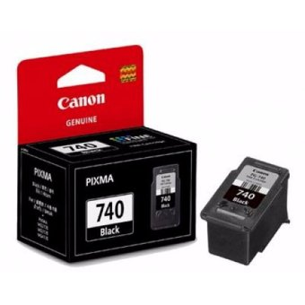 Harga [Original] Canon PG-740 Black Ink Cartridge for Canon Pixma Printers