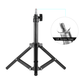 Harga Andoer Photography Photo Studio 50cm / 20inch Aluminum Alloy Mini Light Stand Table Top Backlight Stand - intl