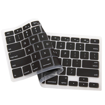 "Harga Raidfox Keyboard Cover Skin QWERTY for MacBook Air/Pro 13""/15"" (Black) - intl"