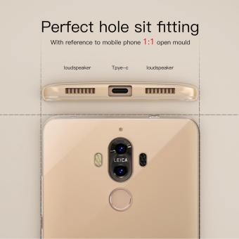 Roybens Ultra-thin Soft TPU Protective Back Cover Case For Huawei Mate 9 Clear - intl - 5