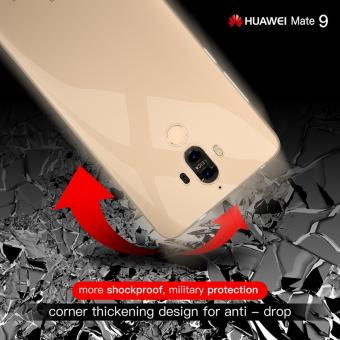 Roybens Ultra-thin Soft TPU Protective Back Cover Case For Huawei Mate 9 Clear - intl - 4