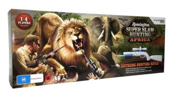 Harga Nintendo Wii Remington Super Slam Hunting Africa with Rifle