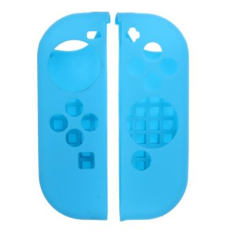 Harga Anti-slip Silicone Cover Skin Case for Nintendo Switch Joy-Con Controller - intl