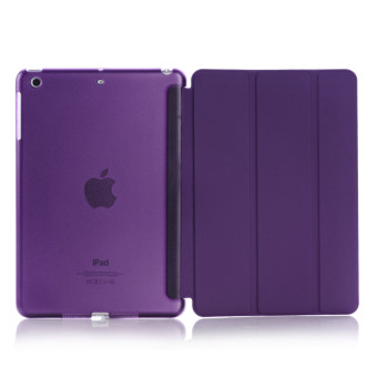 Harga Apple 2016 iPad Pro (9.7) / iPad Air 2 (ipad 6) case, Welink Ultra Slim Smart Cover PU Leather Case for Apple 2016 iPad Pro (9.7) / iPad Air 2 (ipad 6) (Purple) - intl