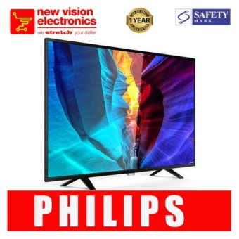 "Philips 55"" Smart LED TV Black 55PFT6100.PSB safety mark approved.1 Year International Warranty."