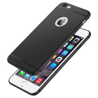"Ultra Thin TPU Silicone Matte Soft Case Cover for Apple iPhone 6 Plus / 6S Plus 5.5"" (Black) - intl"