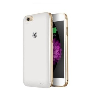 Harga Kuke Battery Case For IPhone 6 / 6s classic (gold / white)