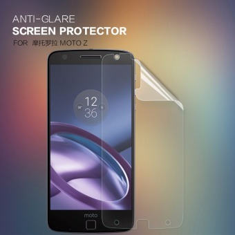 Harga 2 pcs/lot MOTO Z Droid Screen Protector NILLKIN Anti-Glare Matte protective film for moto z droid with retail package (Clear) - intl
