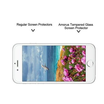 AMORUS for iPhone 7 Tempered Glass Screen Protector Guard 2.5D Arc Edge - intl - 4