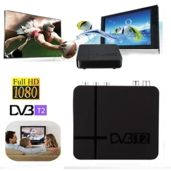 Harga Hot Selling Full HD 1080P DVBDigital Terrestrial Receiver Set-top Box with Full Multimedia Player H.264 / MPEG-2 / 4 Compatible with DVB-T for TV HDTV - intl