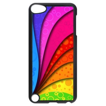 Harga Y and M Rainbow Design Back Case for iPod Touch 5 (Multicolor) (EXPORT)