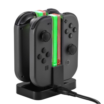 Harga XCSOURCE Joy-Con Controllers Charging Stand Dock Station Gamepad Power Charger for Nintendo Switch Joy-Con AC799 - intl