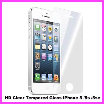Harga Tempered Glass for iPhone 5c / iPhone 5 / iPhone SE / iPhone 5s