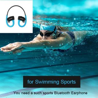 Harga China Brand Headphone Dacom P10 IPX7 Waterproof Bluetooth Earphones for Runner Sports/Swimming Wireless Stereo Earbuds Headset for Music/Handfree Call - intl