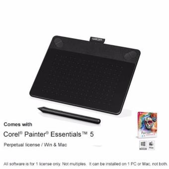 Harga Wacom Intuos Art Pen & Touch Tablet Small - CTH-490/K0 Black