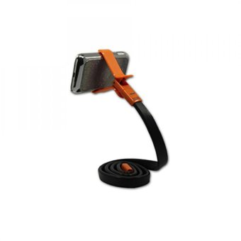 Harga Phoseat Snake Mobile Phone Holder/ Clamp (Orange)