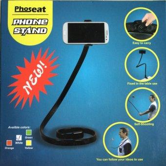 Phoseat Snake Mobile Phone Holder/ Clamp (Orange) - 4