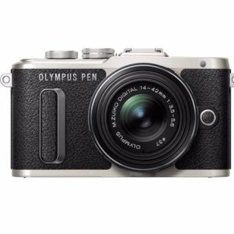 Harga Olympus PEN E-PL8 Mirrorless Micro Four Thirds Digital Camera with 14-42mm Lens (Black) Warranty