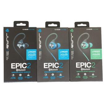 IN MAGAZZINO!! jlab audio epic 2 wireless sport auricolari bluetooth 4.0 cuffie auricolari garantito fitness trasduttore auricolare impermeabile(green) - intl - 5