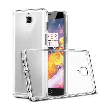Harga TPU Protective Transparent Back Case Slim Crystal Clear ShockProof Back Cover For OnePlus 3T - intl