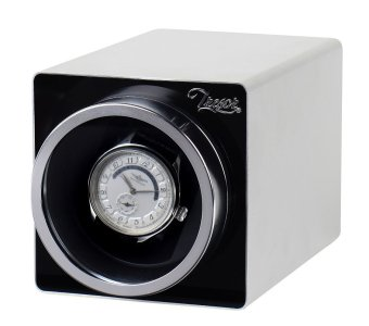 Harga Tresor Bello Single Watch Winder - Metal Silver